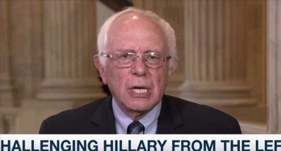 Sen. Bernie Sanders blasts the Kochs and their influence: 'Billionaires are not gonna support me'