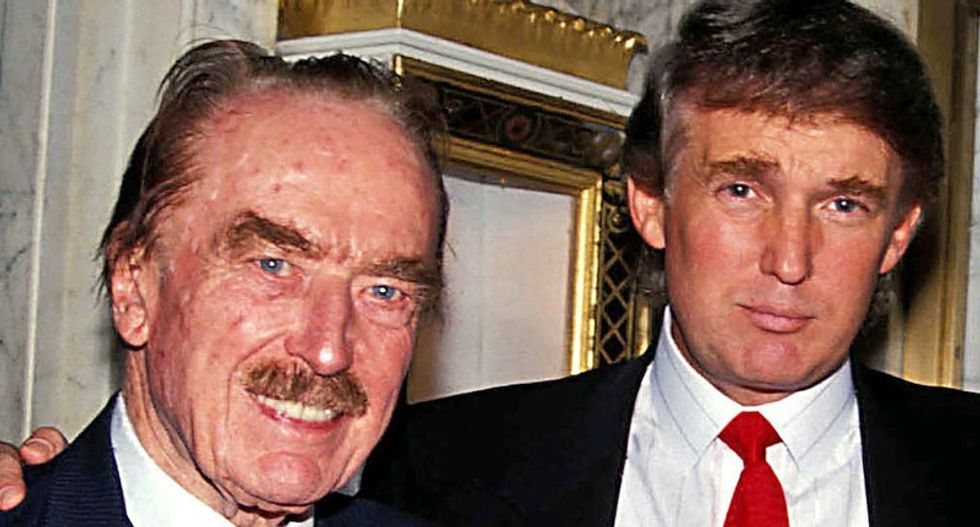 Trump attempted to exploit his father's growing dementia to save himself from financial ruin: report