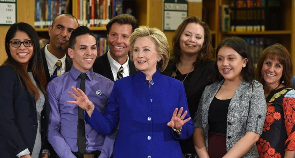 Hillary Clinton singles out immigration as a key 2016 campaign issue