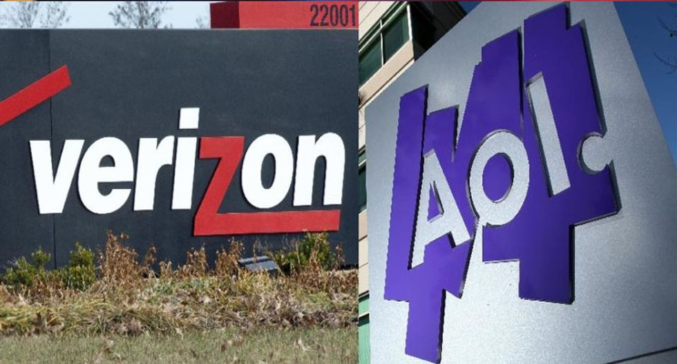Verizon buys faded Internet pioneer AOL for $4.4 billion