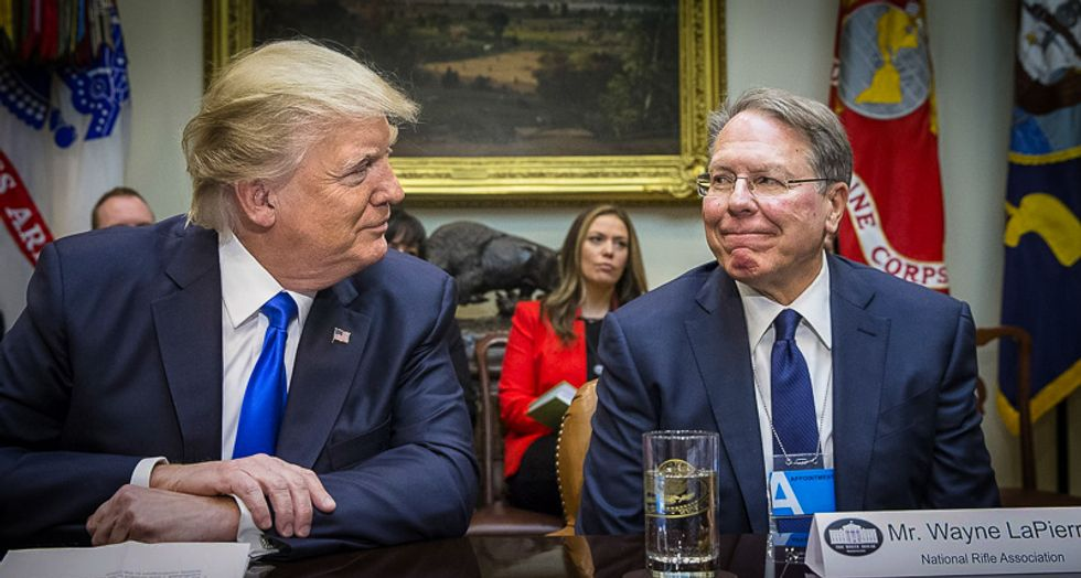 GOP worries that the NRA's financial troubles will threaten Trump's re-election: report