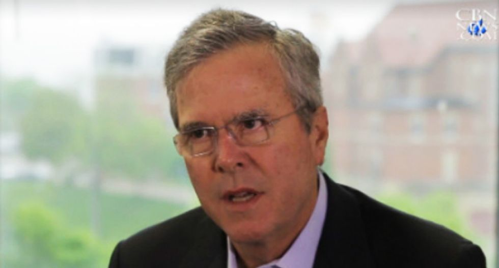 Jeb Bush: A 'tolerant country' should allow discrimination based upon 'religious beliefs'