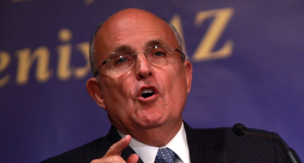 Rudy offers a 'Jr FBI badge' to anyone who can ID Hunter Biden associate named in the report he's tweeting out