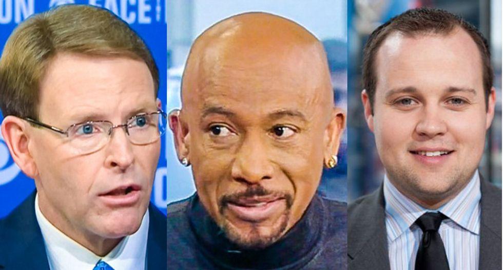 Montel Williams blasts Josh Duggar, Tony Perkins as 'hypocrites, charlatans' in epic Facebook rant