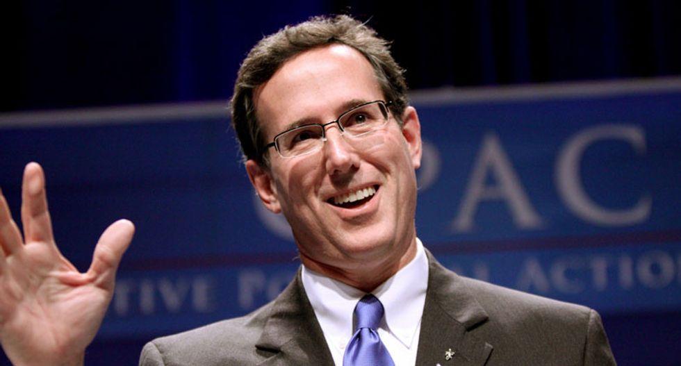 Republican Rick Santorum to enter 2016 White House race
