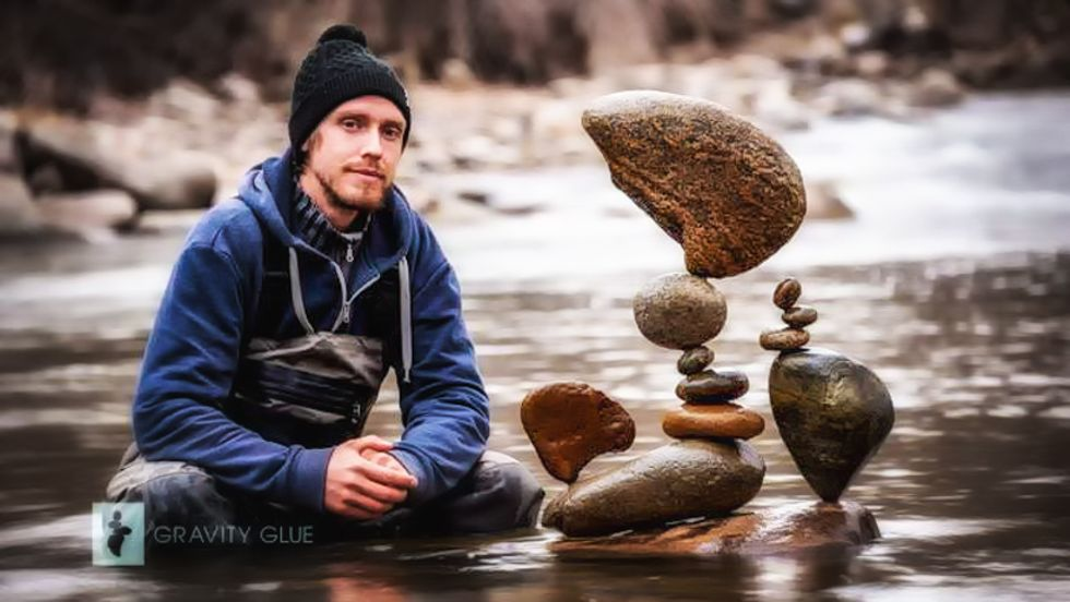Boulder cops declare 'rock stacking' a jailable offense to stop local artist who spent 7 years creating sculptures