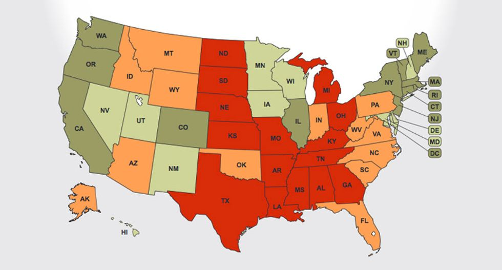 These are the 15 worst states to live in if you are a transgender man or woman
