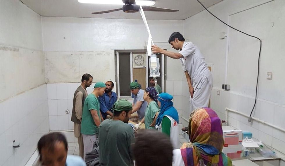 Doctors Without Borders calls US strike on Afghan hospital 'war crime' -- withdraws staff