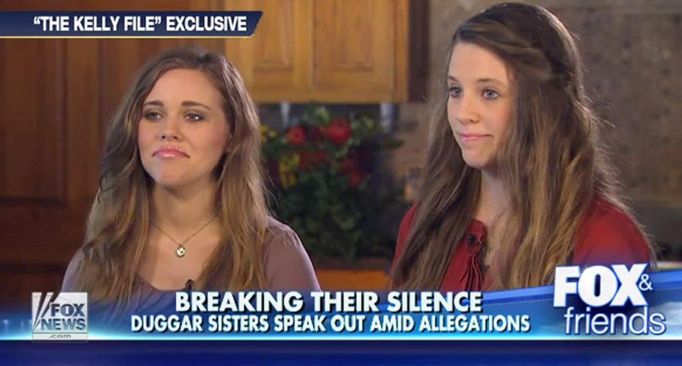 Duggars returning to TLC with Jessa and Jill slated for up to three reality TV specials