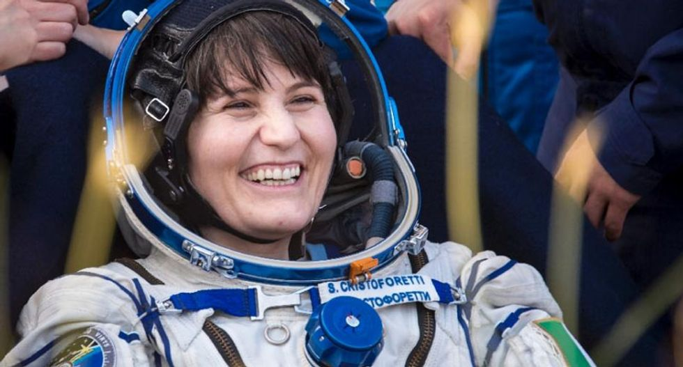 'Hard landing' as three astronauts return to Earth from the International Space Station