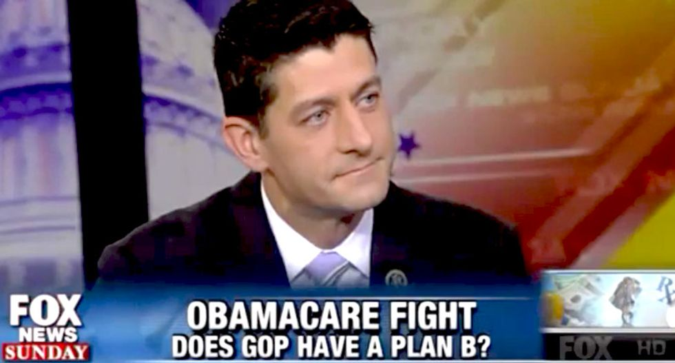 WATCH: Paul Ryan repeatedly refuses to tell skeptical Fox host how the GOP would replace Obamacare
