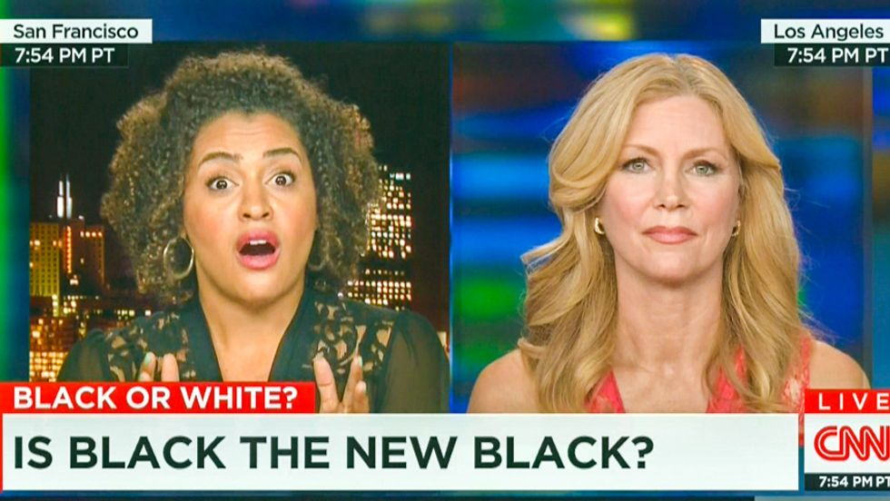 'White privilege on steroids': CNN analyst goes down in flames lecturing activist on 'the black experience'