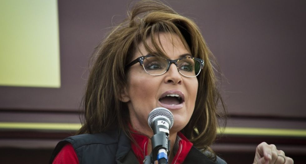Sarah Palin redefines feminism: Women need the government 'like a fish needs a bicycle'