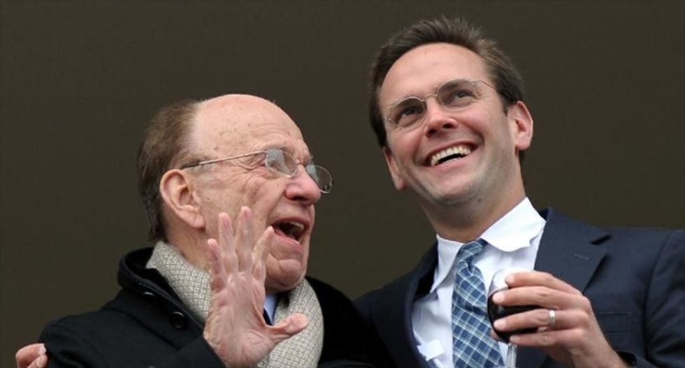 Rupert Murdoch hands 21st Century Fox CEO job to son James after board approval