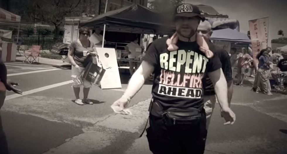 Watch how proud these preachers are to get arrested for being obnoxious street trolls
