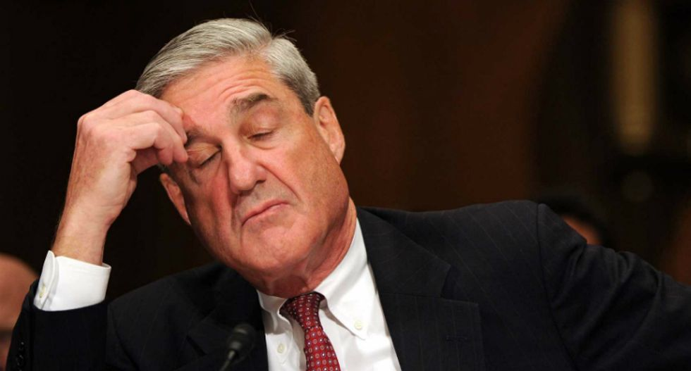 Robert Mueller's investigation may be scattered, but he knows what he's doing