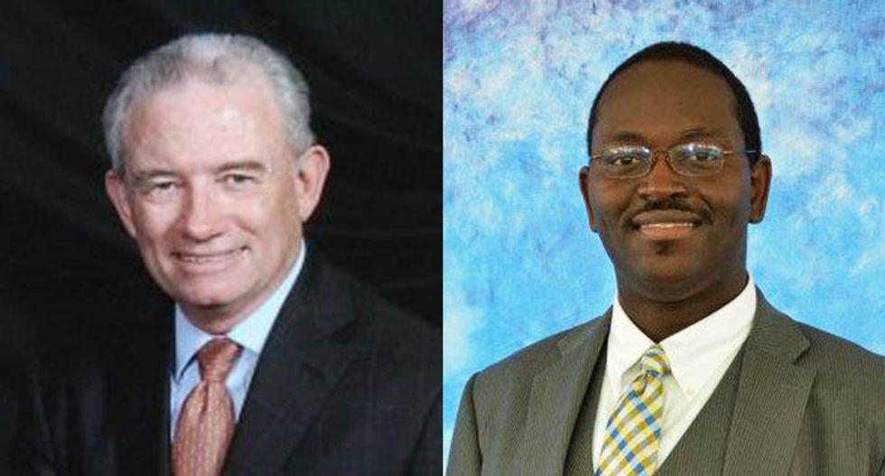 NRA board member blames Charleston shooting deaths on pastor's vote against guns in churches