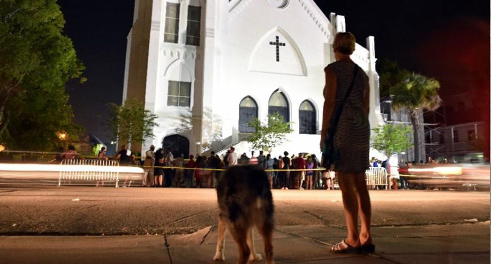Dylann Roof charged with nine counts of murder for attack on black church
