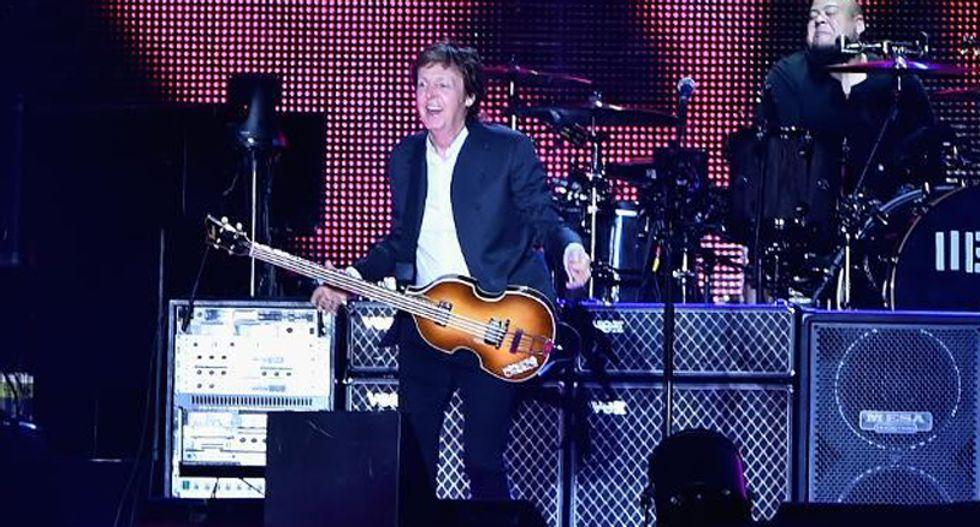 Paul McCartney dedicates Beatles ballad to Charleston victims