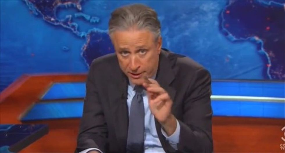 Jon Stewart roasts Southerners clinging to their 'archaic symbol of racist insurrection'