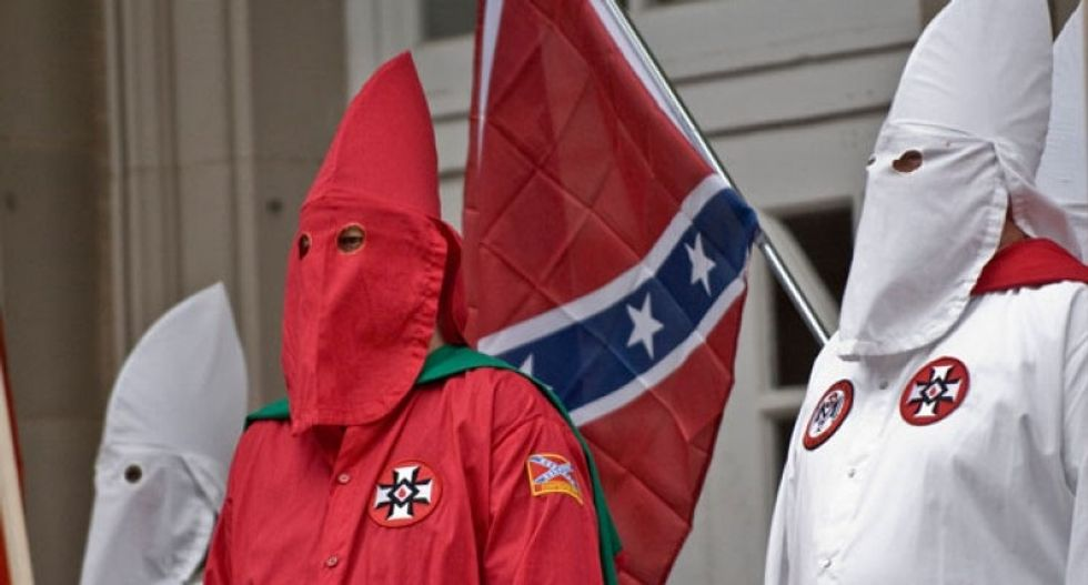 'A lot of what he believes, we believe' -- KKK Grand Imperial Wizard endorses Trump