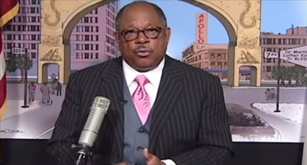 Harlem preacher vows to back the South in new Civil War to 'rescue' US from 'sodomy agenda'