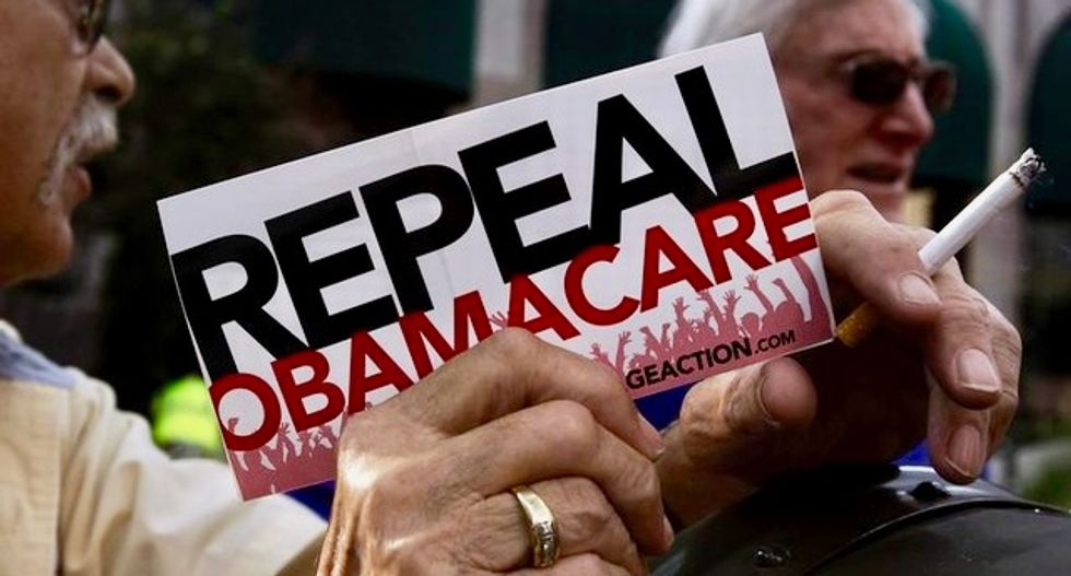 Republican Obamacare repeal benefits wealthiest: study