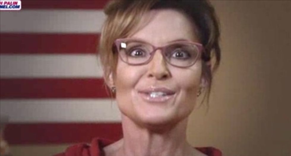 Sarah Palin ludicrously claims that Bill Nye 'is as much a scientist as I am'