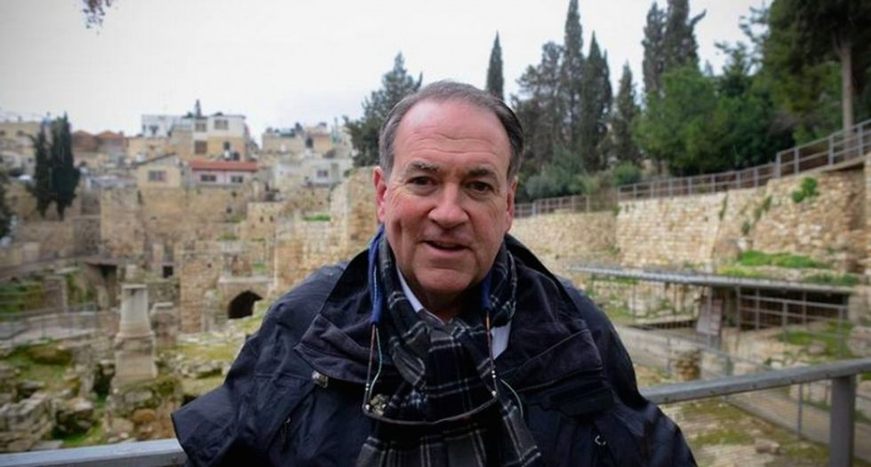 Mike Huckabee: There's no such thing as a Palestinian -- and they should all be relocated
