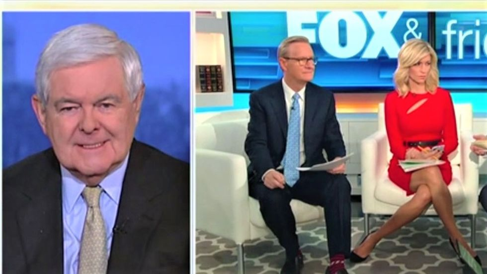 Newt Gingrich dismisses BuzzFeed bombshell on Fox News: Trump not 'dumb enough' to order Cohen to lie