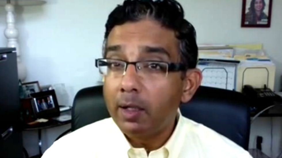 Dinesh D'Souza's fever dream: Obama invented border crisis to kill America for his lefty pals