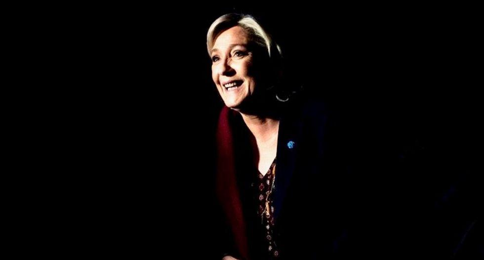 France's Le Pen launches campaign with anti-EU message