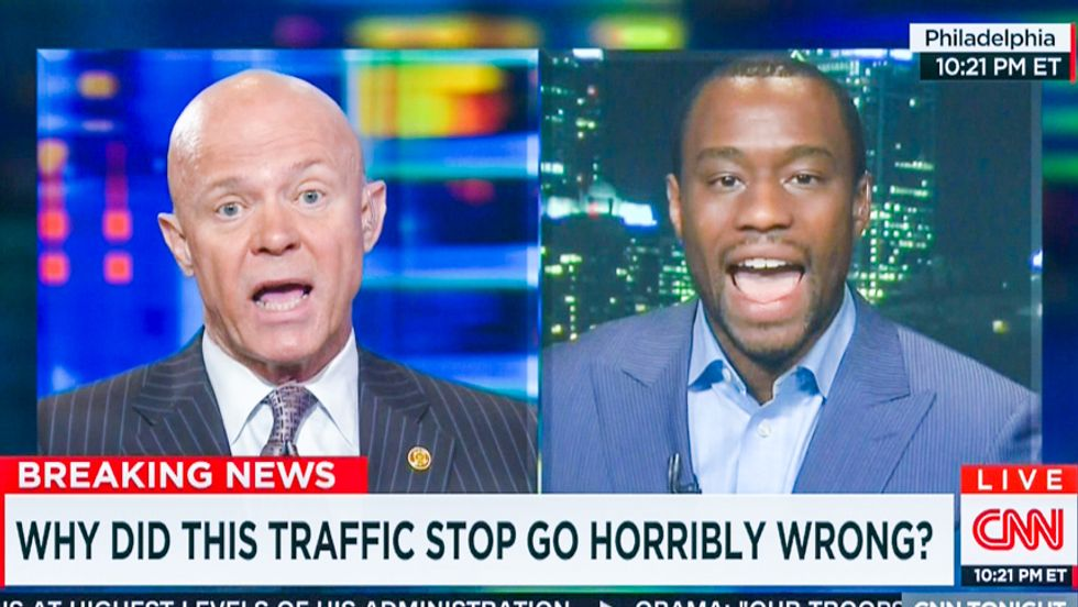 CNN panel explodes after ex-cop says Sandra Bland died because she was 'arrogant from the beginning'