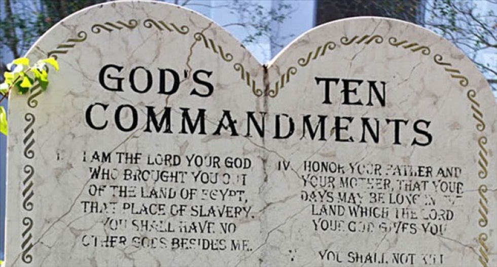 Atheists defeat Christian group in fight over 10 Commandments at Pittsburgh public school