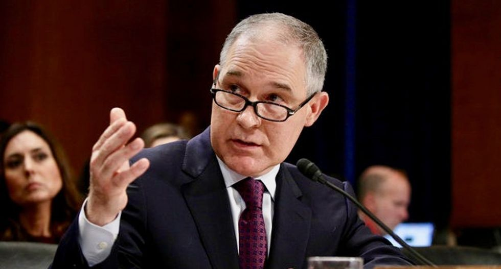 Watchdog group sues Trump EPA pick to disclose contact with energy companies