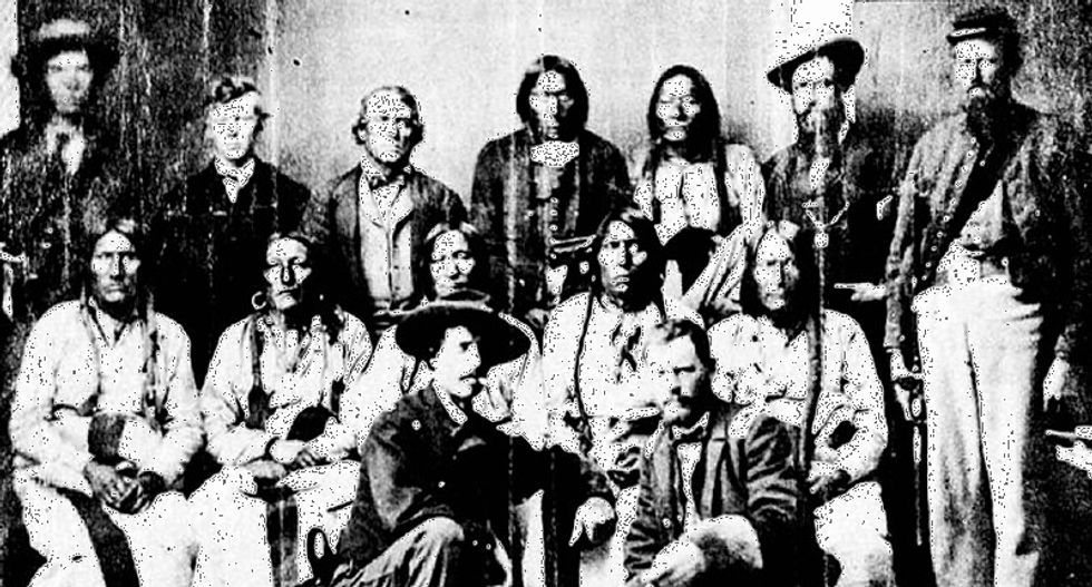 Remembering the US soldiers who refused orders to murder Native Americans at Sand Creek