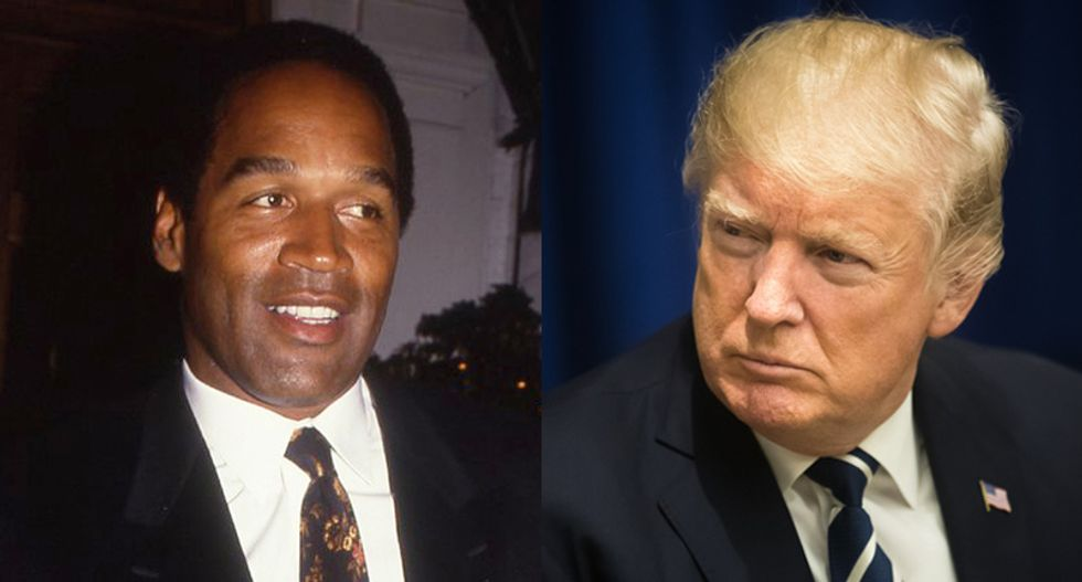 Think Donald Trump wants to be impeached and acquitted? Ask his old pal O.J. Simpson