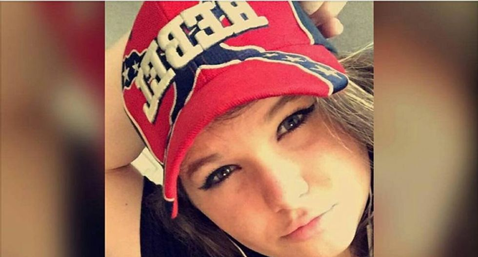 Confederate flag banned in Oregon schools after 'girl fight'