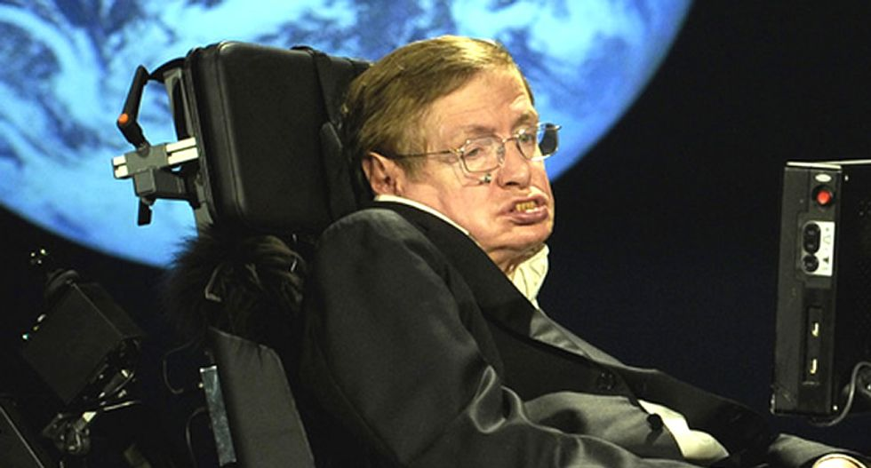 '250 degrees and raining sulfuric acid': Stephen Hawking says Trump 'could push the Earth over the brink'