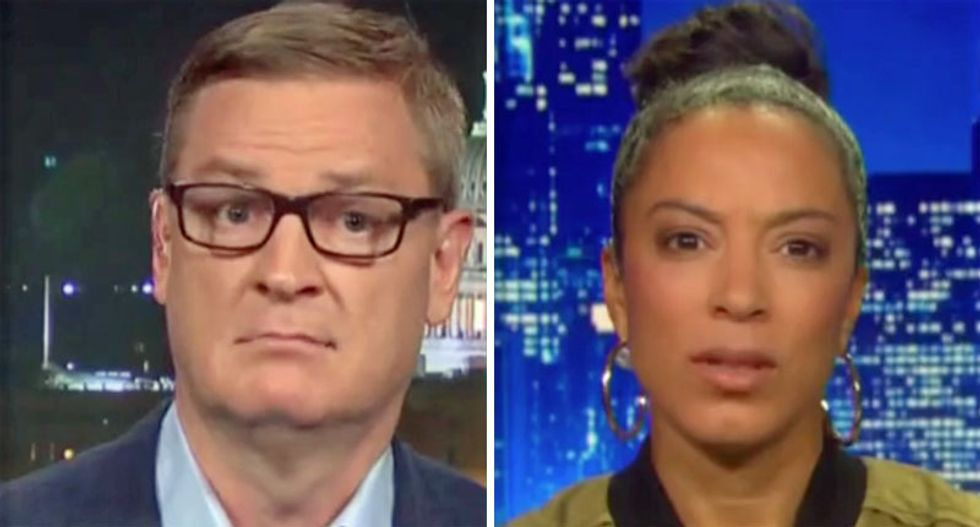 'You're lying': Angela Rye shuts down Republican operative's mistruths about impeaching Trump for racism