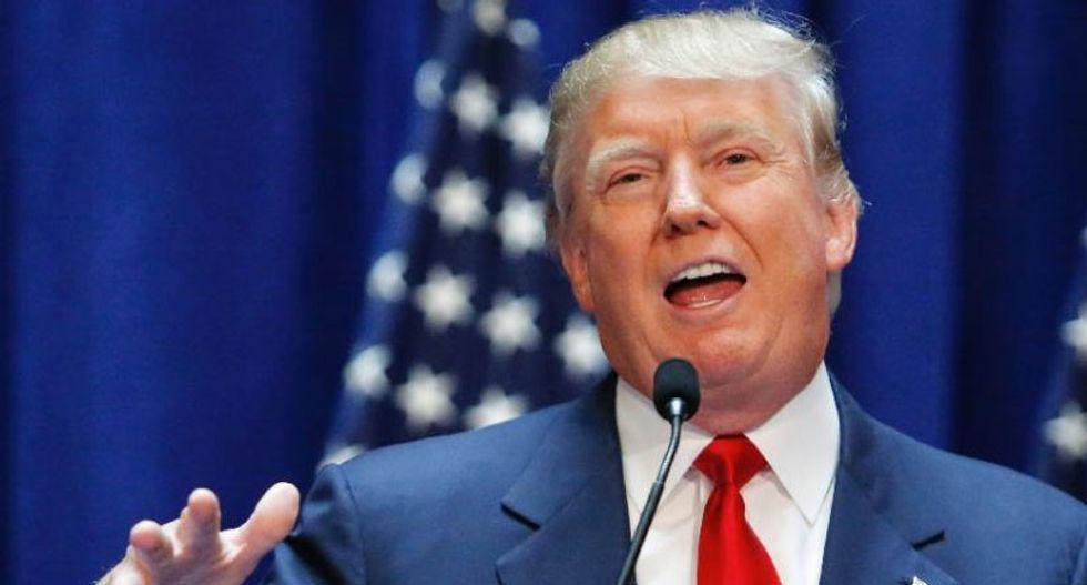Donald Trump again refuses to rule out independent bid 'in case I don't get treated fairly'