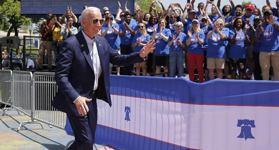 Where's Joe? Biden taking it slow in early campaign days