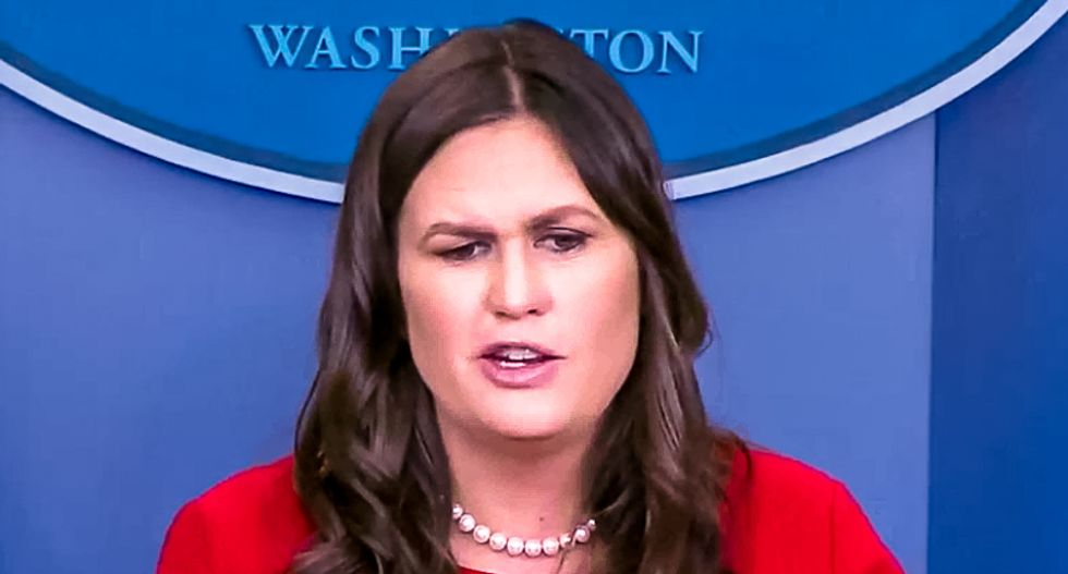 Reporters educate Sarah Sanders after her absurd attack of the Washington Post: 'That's what newspapers do'