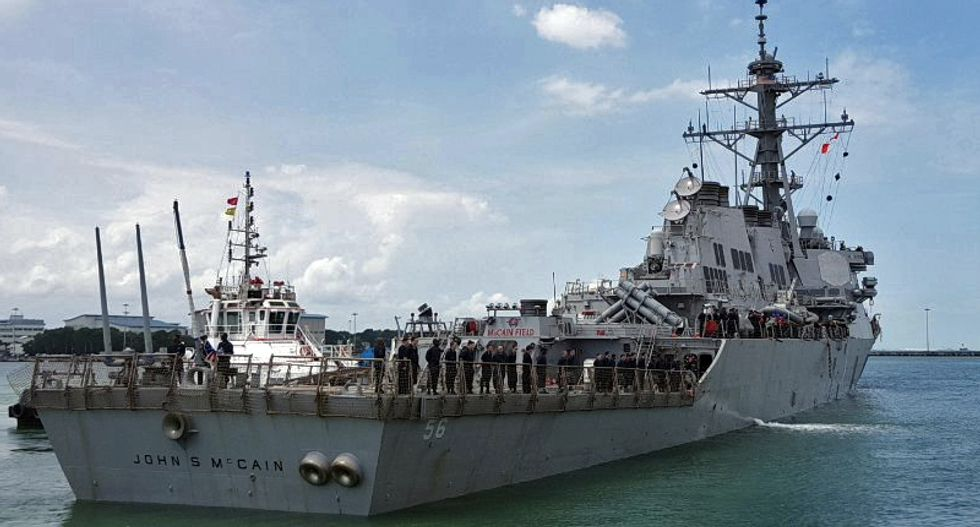 Wall Street Journal has emails proving Navy was ordered to hide McCain ship -- after White House disputes report