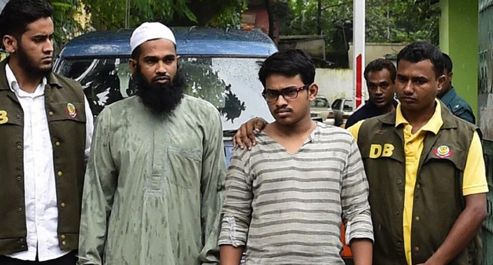 Bangladesh police arrest two members of Islamist group over murder of secular blogger