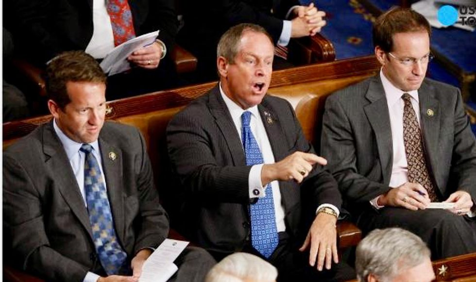 GOP congressman who once shouted 'you lie' during Obama address tests positive for Covid