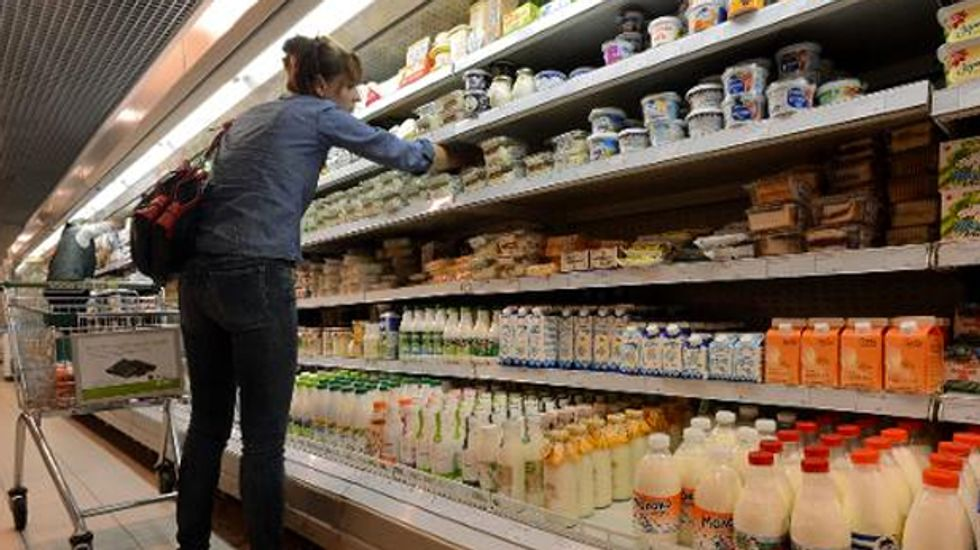 Faced with sanctions over Ukraine, Russia resorts to food fight with the West
