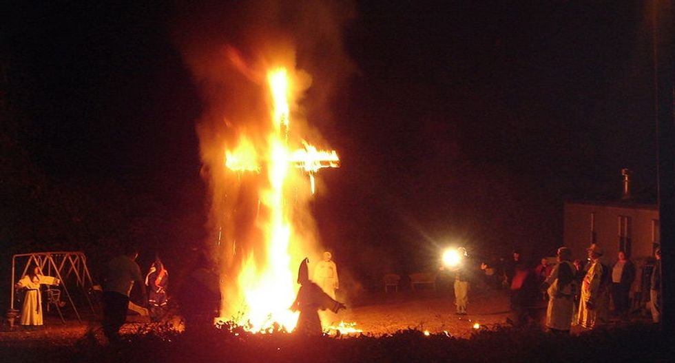 'You and your family will die': Christian Klansman terrorizes biracial Oregon family