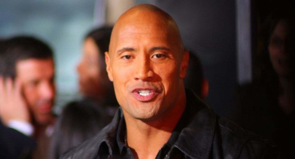Dwayne 'The Rock' Johnson: America is 'on its knees' and its leader is missing in action