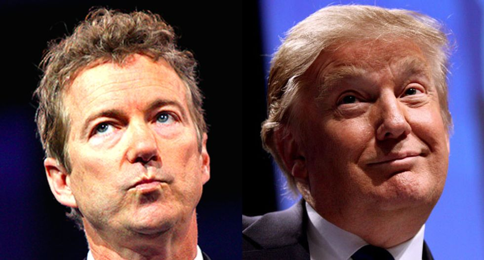 Trump calls Rand Paul a 'negative force' on Republican Obamacare repeal efforts